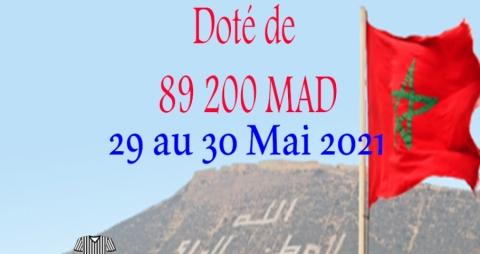 Championnat du Maroc Seniors (saison 2020-2021) les 29 et 30/05/2021 au club ASA Agadir (LSS)
