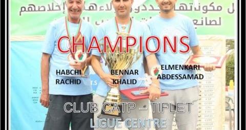 Le club CATP Champion du Maroc Seniors 2020-2021